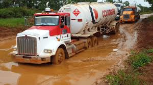 100 Brown Line Trucking Best Driving Tanker Trucks On Extreme Mud Off Road HD 1080 YouTube