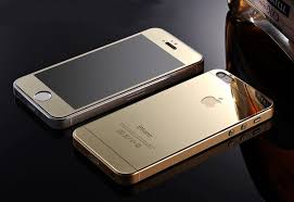 Mirror Effect Tempered Glass Screen Protector for iPhone 5 5s 6