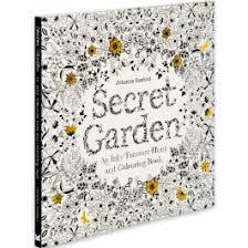 Secret Garden Coloring Book For Grown Ups New At The Backyard Naturalist