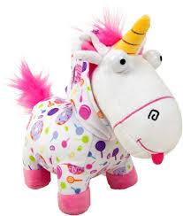 DM3 Fluffy Unicorn Onesie Plush