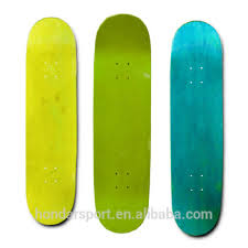 wholesale cheap 100 canadian maple blank skateboard decks for