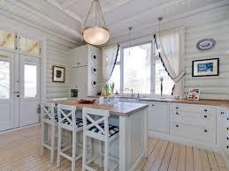 Beautiful White Galley Kitchen