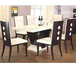 White Marble Top Dining Room Table New Furniture Stone Black Of Best Chairs Chair Covers Target Tall