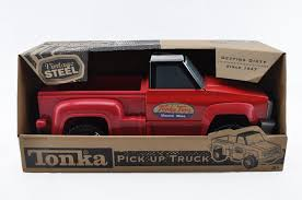 Buy VINTAGE Tonka Truck Pick Up Silver Black 17 Plastic Pressed ...