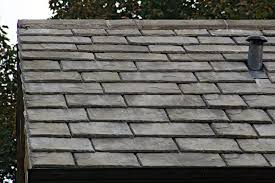 faux slate roofing material bellaforte synthetic slate roof
