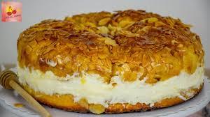 bienenstich rezept bienenstich torte mit vanillecreme