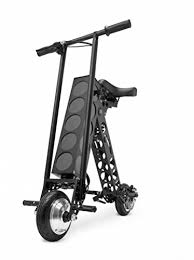 URB E Folding Electric Scooter Classic Black
