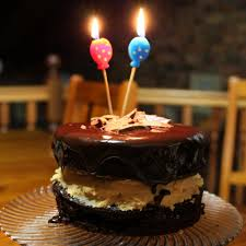 Birthday Cake Chocolate With Candle Happy Birthday Chocolate Cake With Candles Beautiful Cakes