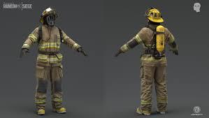 100 Munoz Studio ArtStation Blur Rainbow 6 Siege Firefighter David