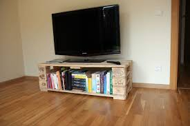 Tv Stand From Pallets With Secret Compartment O 1001