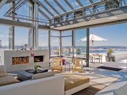 100 Seattle Penthouse Glass Atrium Penthouse INSIDE OUT House Styles