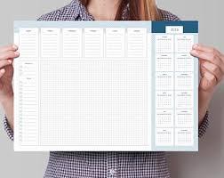 calendrier bureau calendrier de bureau etsy