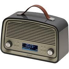 denver dab 38 grey portable dab fm digital radio with alarm clock and 2 8 lcd display 3wisemonkeys