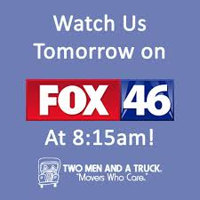 Check Us Out On FOX 46 Charlotte... - TWO MEN AND A TRUCK | Facebook Two Men And A Truck Nc State Football On Twitter Buses Are Rolling We Officially Check Us Out Fox 46 Charlotte Facebook Home Two Men And A Truck Help Deliver Hospital Gifts For Kids Jackson Mi Chicks Transports For Students In Need 1128 Photos 87 Reviews Mover 4801 Movers In