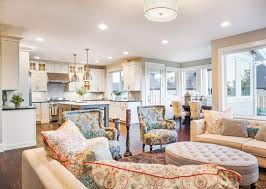 Open Kitchen Ideas 48 Open Concept Kitchen Living Room And Dining Room Floor