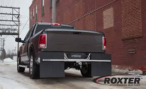 Hitch Mounted Mud Flaps By ROXTER - They've Got Your Back!