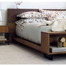 Queen Bed Frame For Headboard And Footboard by Best 25 Low Bed Frame Ideas On Pinterest Low Beds Diy Platform