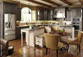 kitchen island with seating nook decoraci on interior