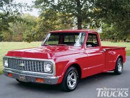 100 Chevy Stepside Truck For Sale 1971 Chevrolet C10 Hot Rod Network