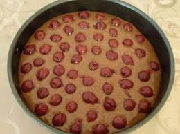 kirsch schoko nuss kuchen kirschkuchen