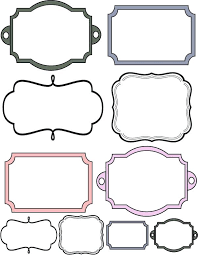 Custom Crops Free Scrapbook Elements Labels More On The Site Printable Scrapbooking Templates To Print