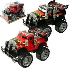 100 Semi Truck Toy Two Piece Set Friction Powered S Big Wheel Monster
