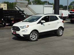 100 Lyons Truck Sales New 2018 Ford EcoSport SUV For Sale IL VIN