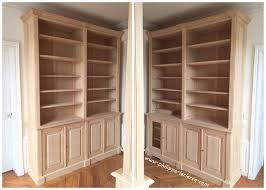 bureau leclercq paire de bibliothèques dans un bureau
