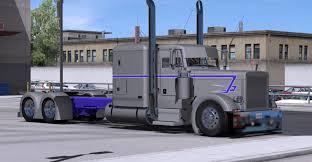 100 Rig Truck Peterbilt Custom Skin Mod ATS Mod American
