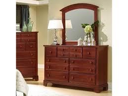 Vaughan Bassett Dresser With Mirror by Vaughan Bassett Hamilton Franklin Triple Dresser With Rectangular