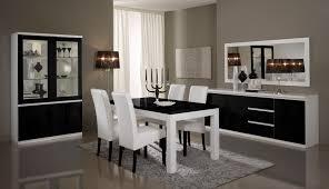 salle à manger design laquée blanche et loana salle à
