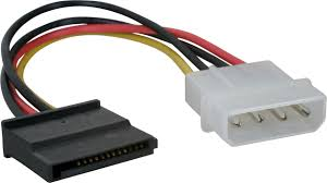 MOLEX 4 pin to SATA