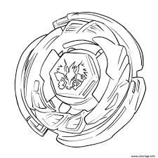 Coloriage Beyblade Burst Evolution Dessin