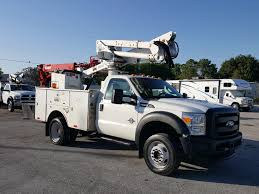 100 Altec Boom Truck 2011 Ford F550 4x4 AT37G 42ft Bucket M31594 S