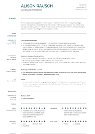 Student Ambassador - Resume Samples & Templates | VisualCV High School Resume Examples And Writing Tips For College Students Seven Things You Grad Katela Graduate Example How To Write A College Student Resume With Examples University Student Rumeexamples Sample Genius 009 Write Curr Best Objective Cv Curriculum Vitae Camilla Pinterest Medical Templates On Campus Job 24484 Westtexasrerdollzcom Summary For Professional Lovely