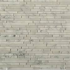 shop for torpedo white carrara marble mosaic tile at tilebar