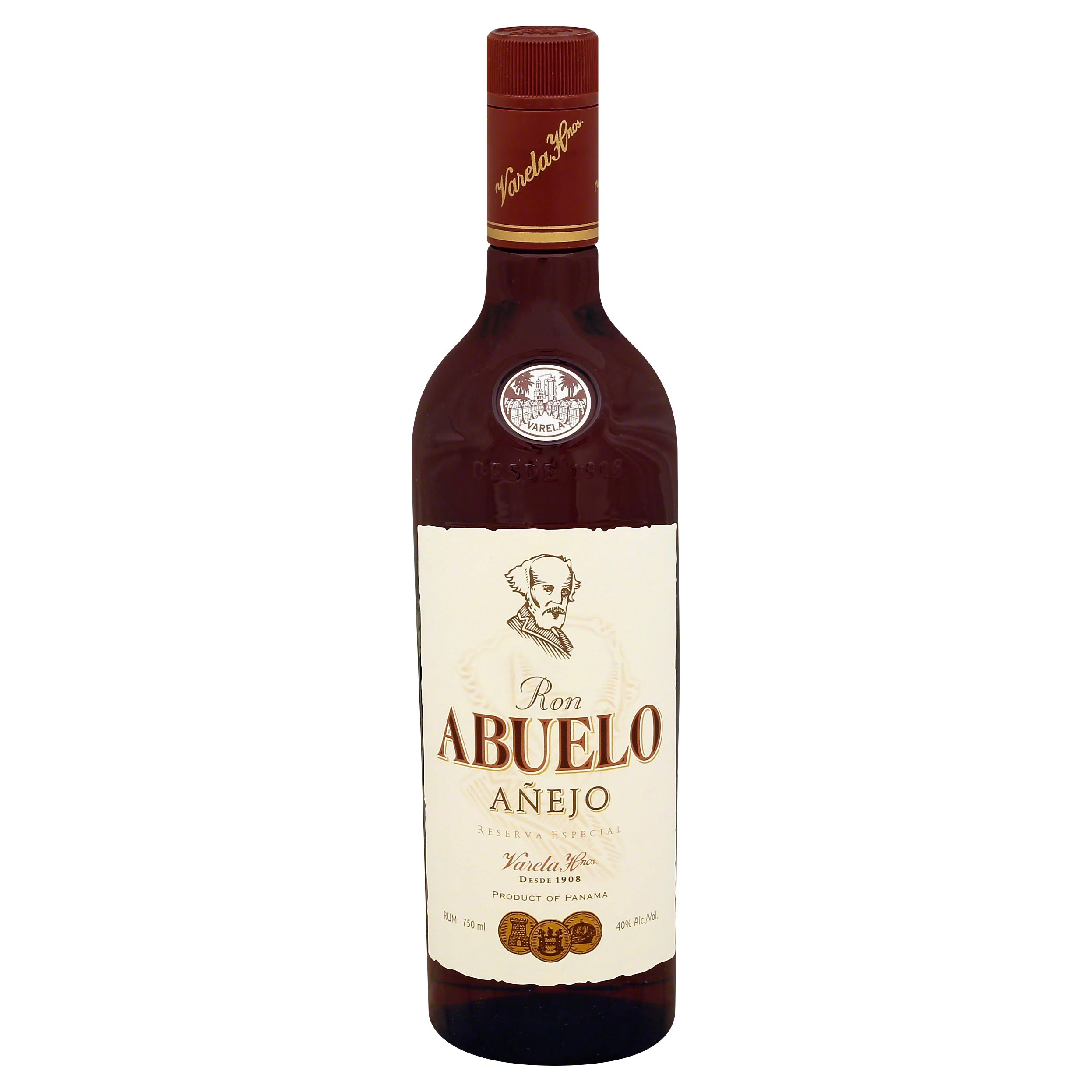 Ron Abuelo Anejo Rum - 70cl