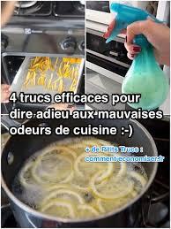 odeur de cuisine 4 trucs efficaces pour dire adieu aux mauvaises odeurs de cuisine