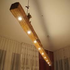deckenle holzbalken rustikale beleuchtung