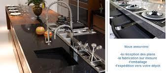 plan de travail cuisine sur mesure quartz production plan de travail de cuisine en quartz sur mesure