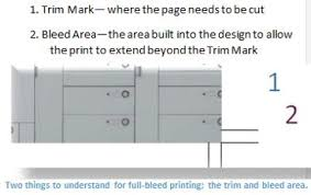 taking print to the edge how to do full bleed printing using word