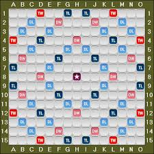 Words with Friends Board and Tile Distribution