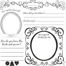 Wedding Guest Book Templates