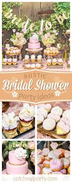 Loving This Rustic Bridal Shower The Sweet Treats Look Amazing See More Party