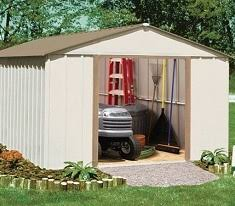 Sears Metal Shed Instructions by Electro Galvanized Steel Storage Sheds Backyard Outdoor Garden