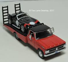 100 Truck Bed Ramp Greenlight 1972 Ford F350 And 1965 Shelby Cobra