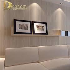 großhandel moderne minimalistische stil tapeten gestreiften einfarbig vlies tapete wohnzimmer tv sofa hintergrund wandverkleidung r521 herbertw