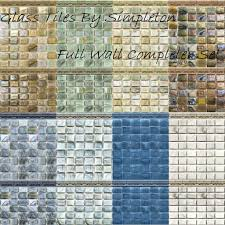 Tile Floors Glass Tiles For by Mod The Sims Mosaic Glass Tiles For Walls U0026 Floors Full Tile