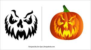 Ecu Pirate Pumpkin Stencil by Halloween 2013 Free Scary Pumpkin Carving Patterns Ideas