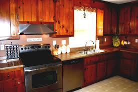 Knotty Pine Bedroom Furniture by Update Knotty Pine Kitchen Cabinets U2014 Decor Trends Painting Old